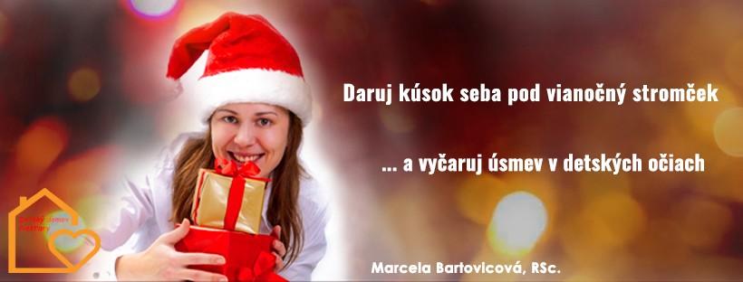 Daruj kúsok seba pod vianočný stromček