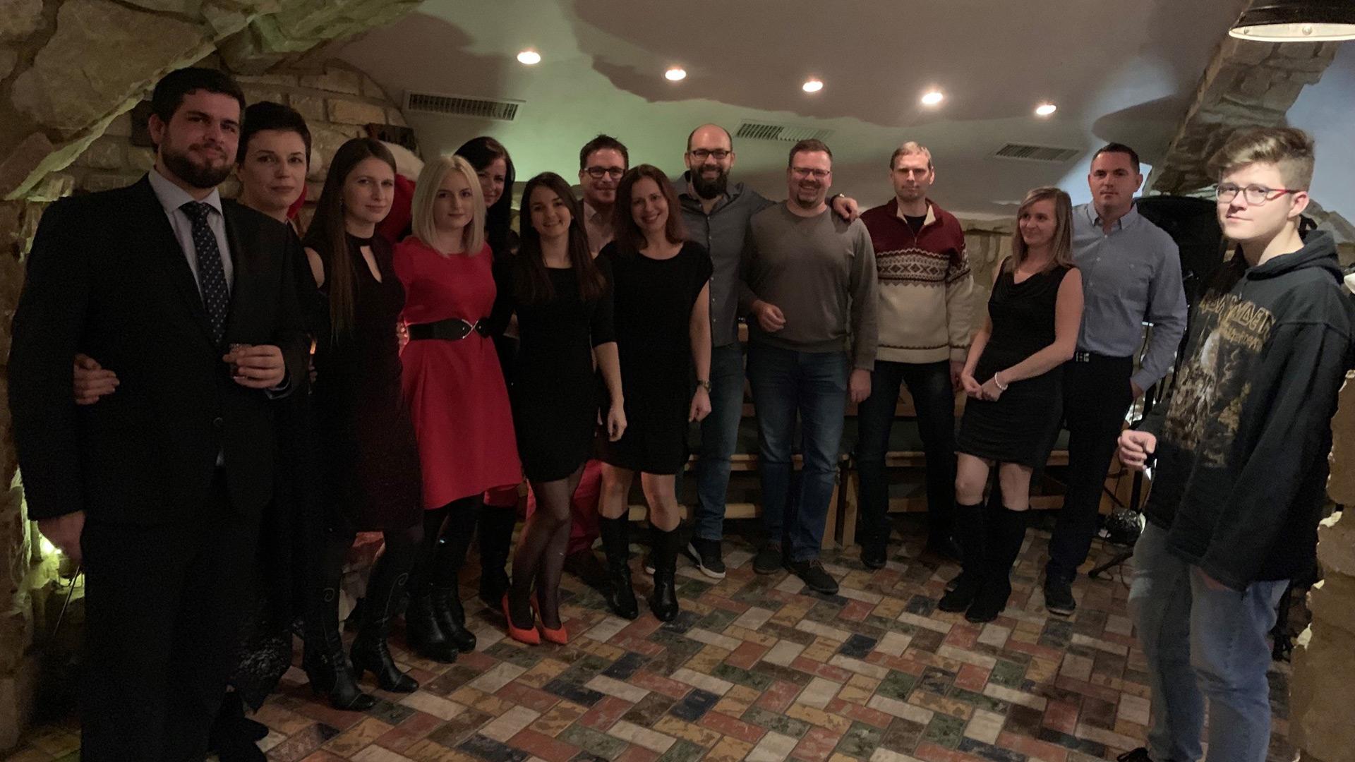 Vianočný večierok 2018 – vináreň Krvinka