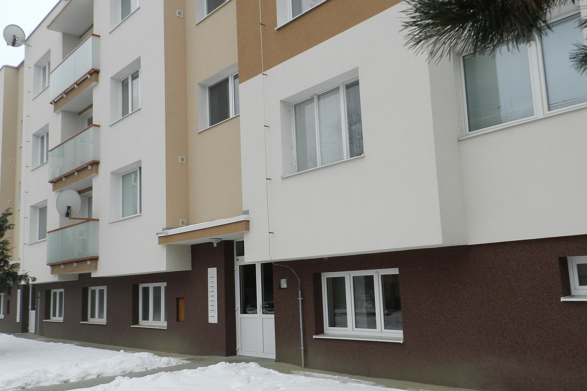 2-izbový byt s balkónom
