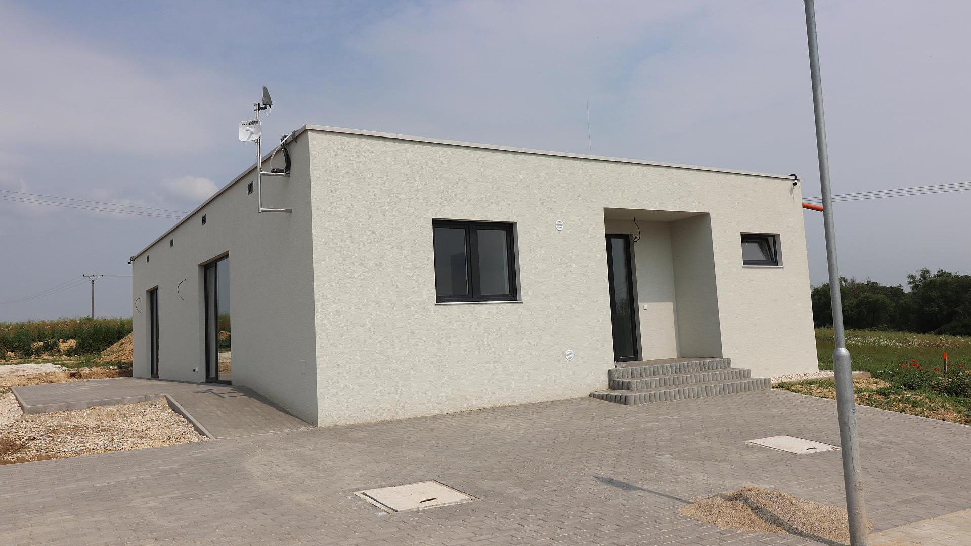 Novostavba rodinného domu 4-izbový bungalov