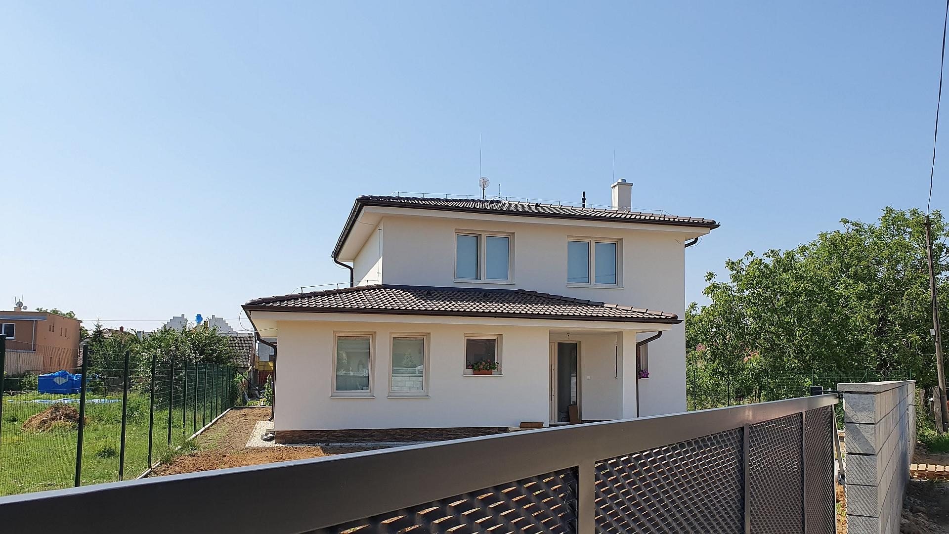 Novostavba rodinného domu pri Piešťanoch