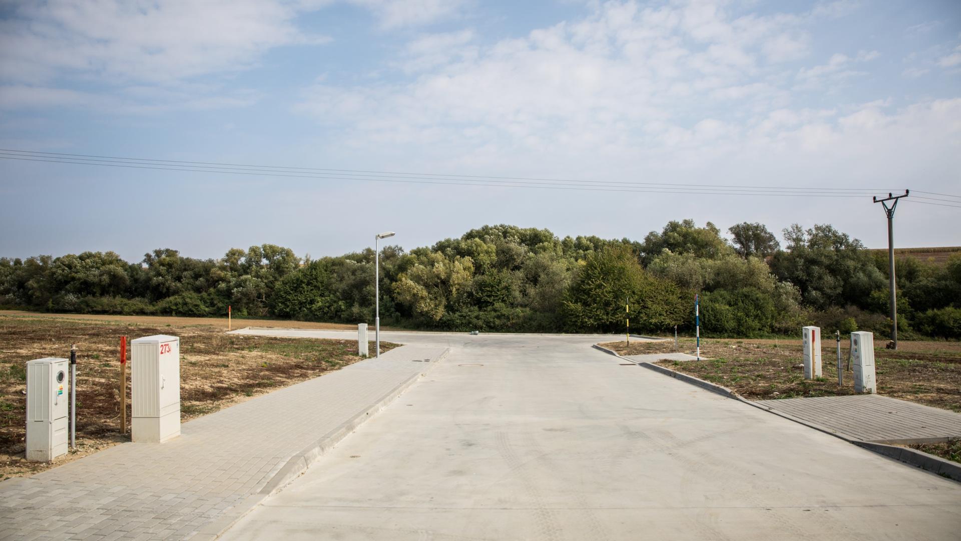 Pozemok č. 7 na novej ulici v tichej časti mesta