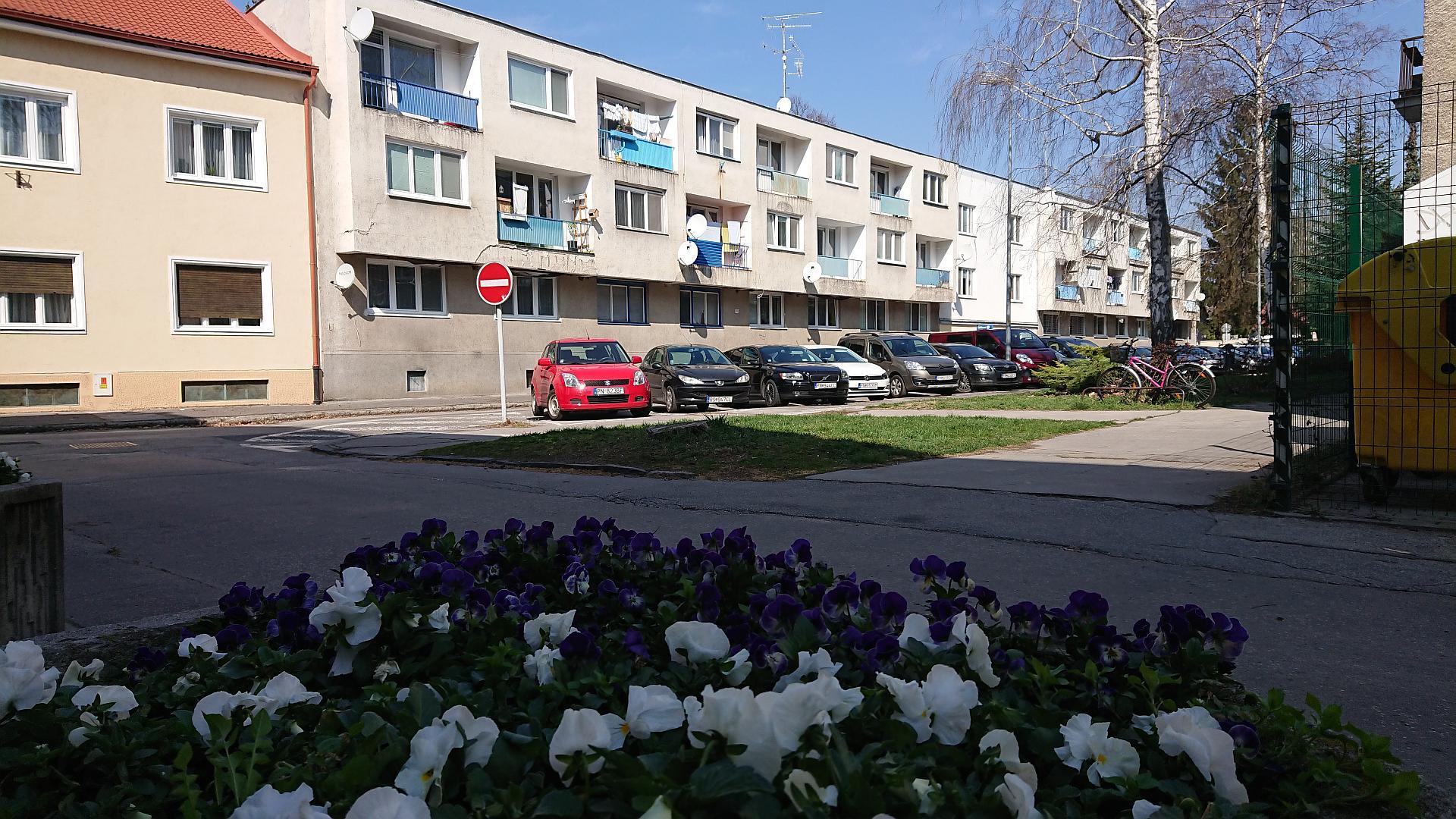 Priestranný dvojizbový byt s loggiou v centre mesta