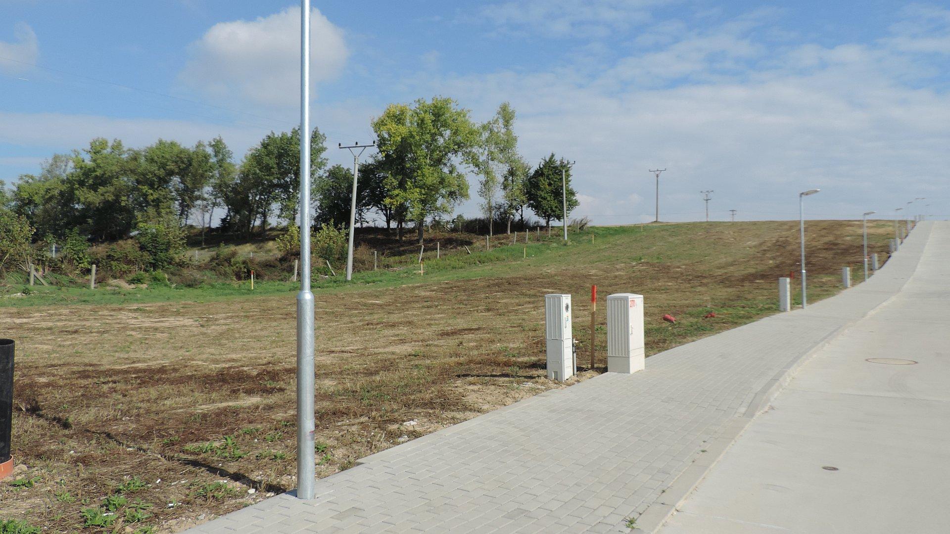 Stavebný pozemok v novej štvrti