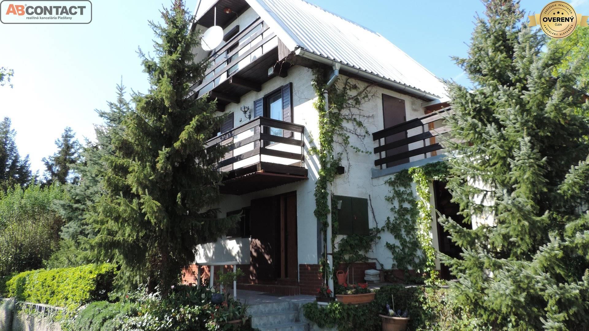 Zrekonštruovaná chata i na celoročné bývanie