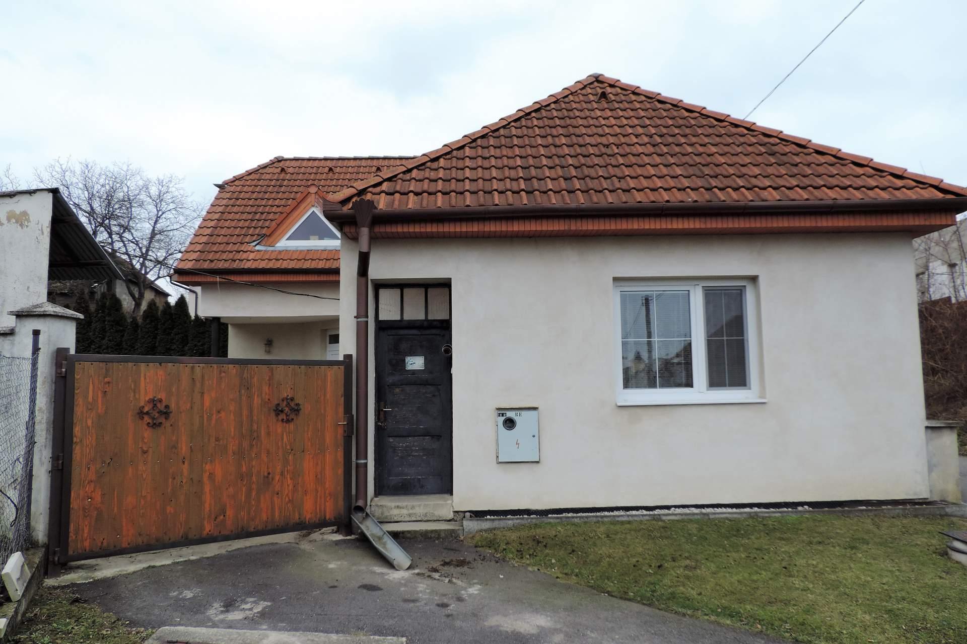 Zrekonštruovaný domček s atmosférou