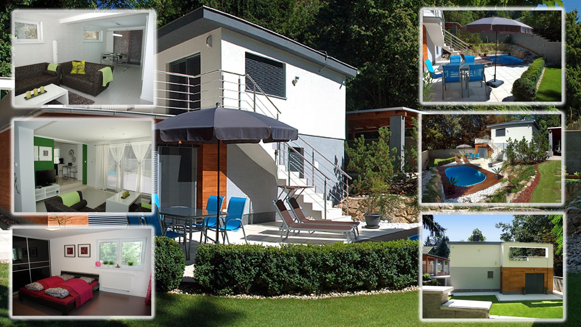 Krásny rodinný dom s bazénom a súkromím v lesoparku