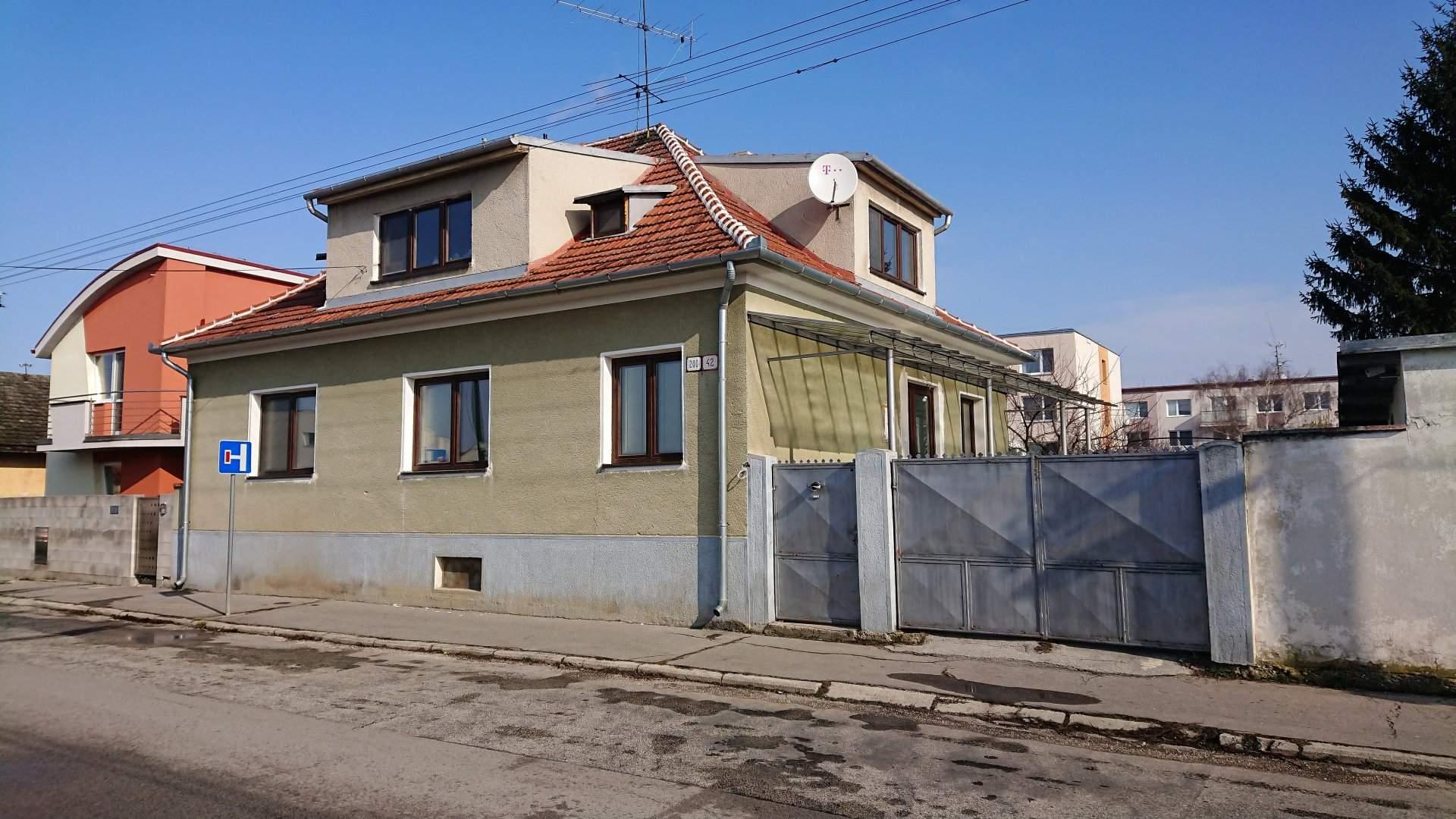 Kúpa rodinného domu Vodárenská ulica Piešťany