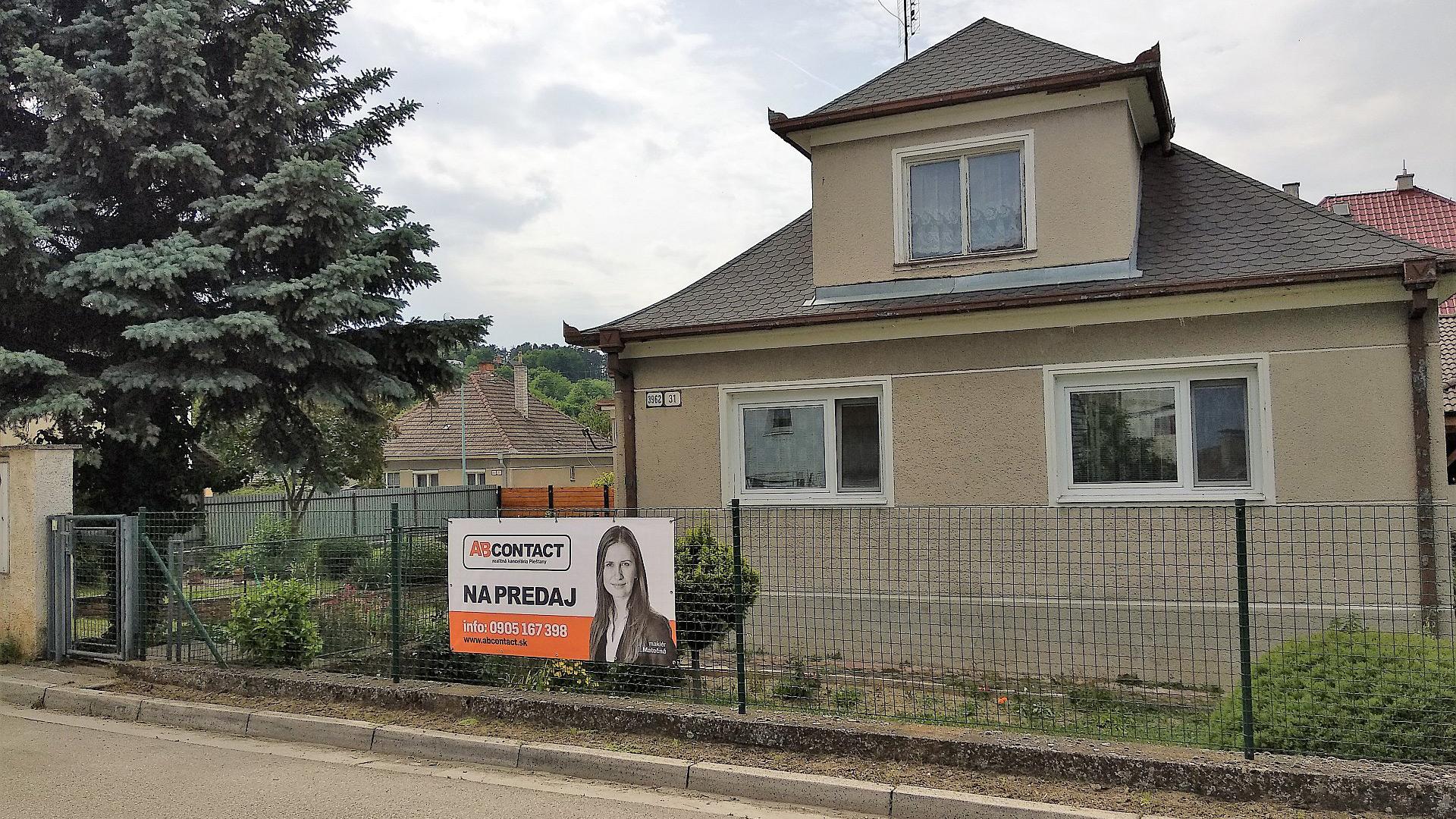 Predaj rodinného domu Banka